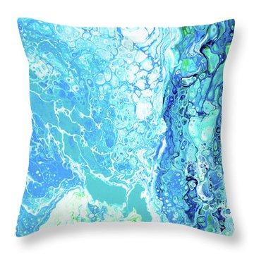 Ka'anapali Beach Throw Pillow