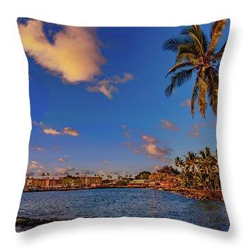 Kailua Bay Throw Pillow