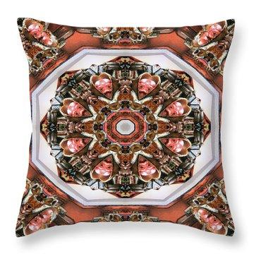 Kaleidoscope Of Apple Still Life Throw Pillow