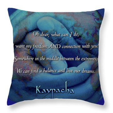 Kaypacha - November 28, 2018 Throw Pillow