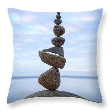 Keep The Balance Throw Pillow