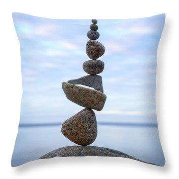 Keep The Balance Throw Pillow