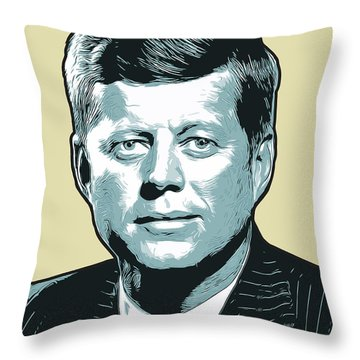 Kennedy 31oct18 Throw Pillow