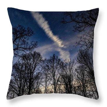 Kentucky Sky Throw Pillow