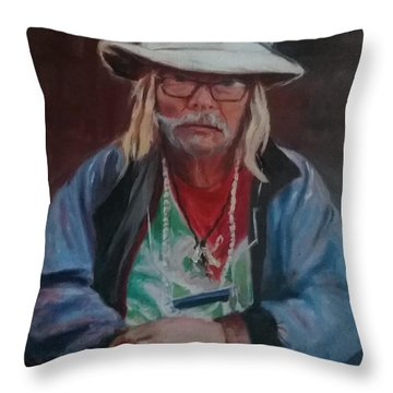 Kermudgeon  Throw Pillow