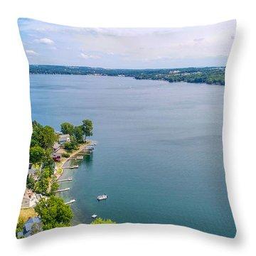 Keuka Views Throw Pillow
