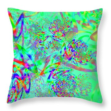 Key Remix Two Throw Pillow