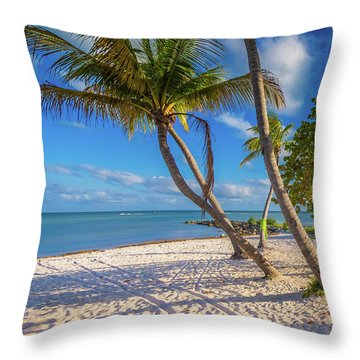 Key West Florida Throw Pillow