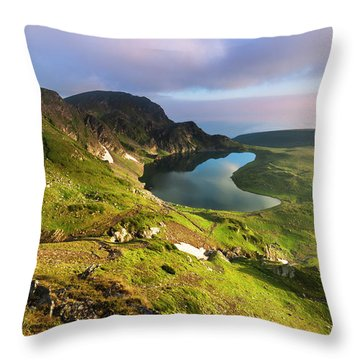 Kidney Lake Throw Pillow