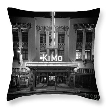 Kimo Theater Throw Pillow