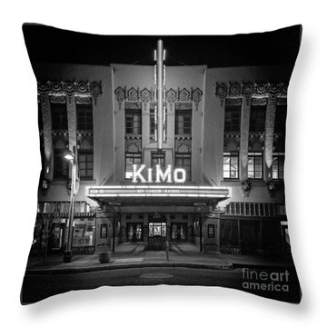 Kimo Theater Throw Pillow