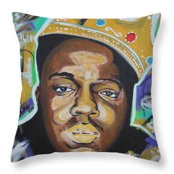 King Christopher Throw Pillow
