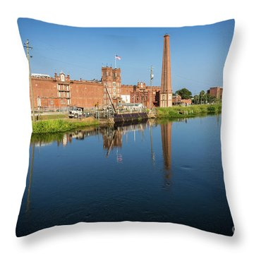 King Mill - Augusta Ga 1 Throw Pillow