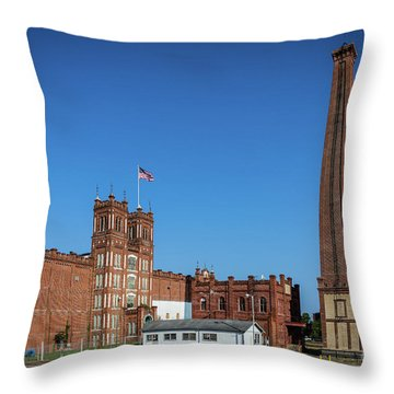 King Mill - Augusta Ga 2 Throw Pillow