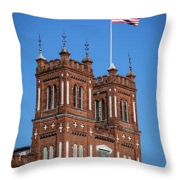 King Mill - Augusta Ga 3 Throw Pillow