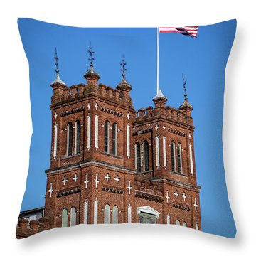 King Mill - Augusta Ga 3 Throw Pillow