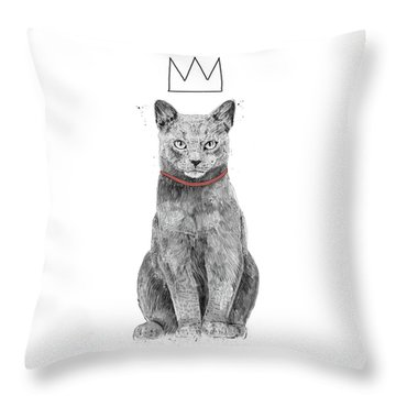 King Of Everything Throw Pillow