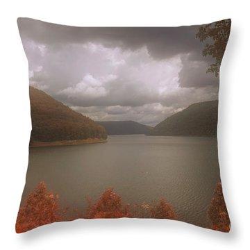 Kinzua Lake Throw Pillow