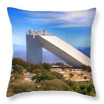 Kitt Peak Observatory Throw Pillow