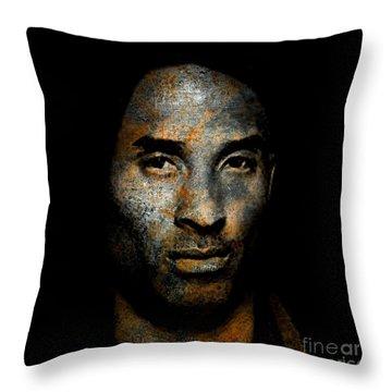 Kobe Bean Bryant Throw Pillow