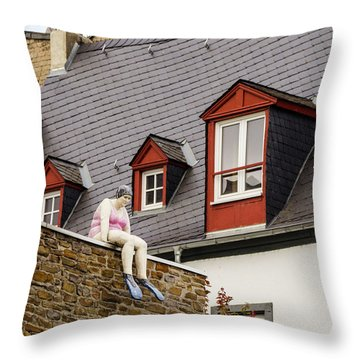 Koblenz Whimsy Throw Pillow