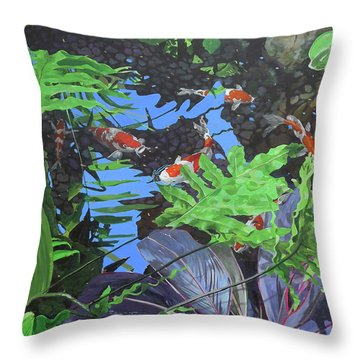 Krohn 1 Throw Pillow