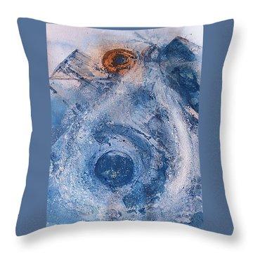 La Donna Del Lago Throw Pillow