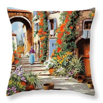 La Donnina  Throw Pillow