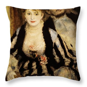 La Loge Throw Pillow