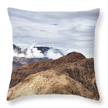 Throw Pillow featuring the photograph Ladakh Peaks by Whitney Goodey
