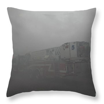 Ladder 5 At A Worker Throw Pillow