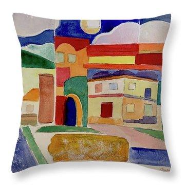 Laguna De Sol Arch Throw Pillow