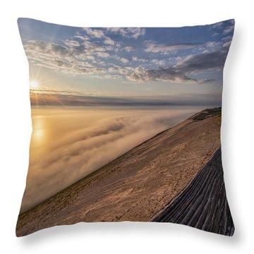 Lake Michigan Overlook 12 Throw Pillow