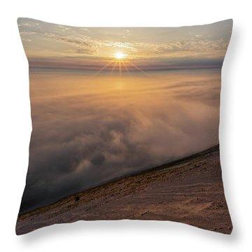 Lake Michigan Overlook 13 Throw Pillow