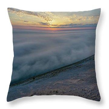 Lake Michigan Overlook 14 Throw Pillow