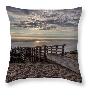 Lake Michigan Overlook 8 Throw Pillow