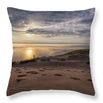 Lake Michigan Overlook 9 Throw Pillow