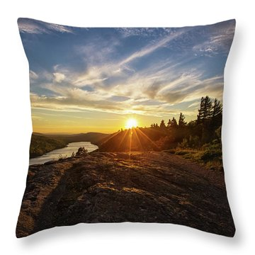 Lake Of The Clouds 1 Throw Pillow
