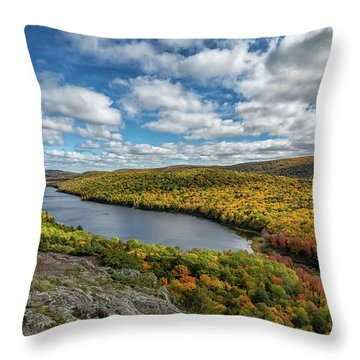 Lake Of The Clouds 2 Throw Pillow