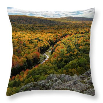 Lake Of The Clouds 3 Throw Pillow