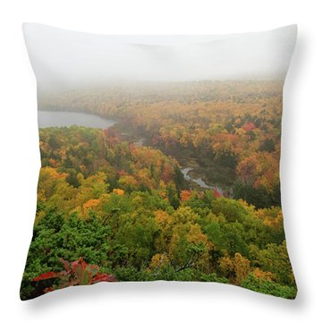 Lake Of The Clouds 8 Throw Pillow