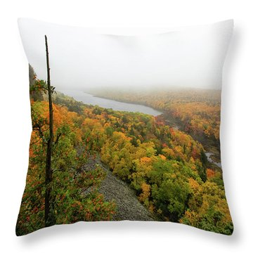 Lake Of The Clouds 9 Throw Pillow