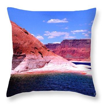 Lake Powell Glen Canyon  Throw Pillow