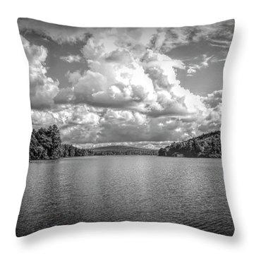 Lake Sunapee Throw Pillow