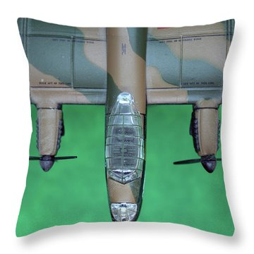 Lanc Model Throw Pillow