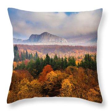 Land Of Illusion Throw Pillow