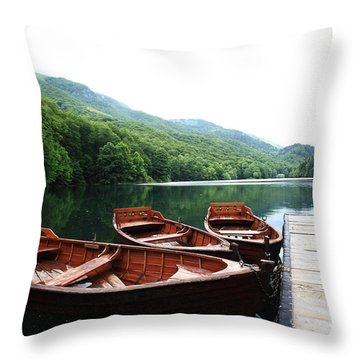 Indigenous People Throw Pillows