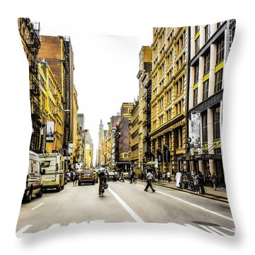 Lane Only  Throw Pillow