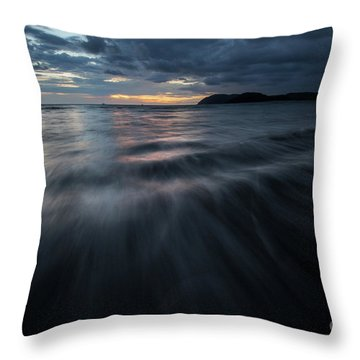 Throw Pillow featuring the photograph Langkawi Sunset by Awais Yaqub
