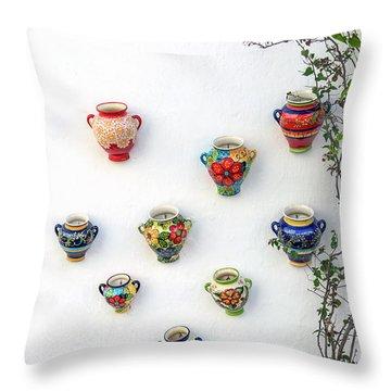 Language Of The Art Throw Pillow